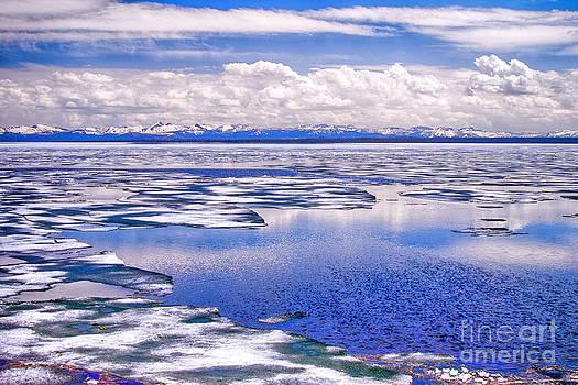 Yellowstone Lake II by Juergen Klust
