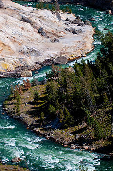 Yellowstone River by Tom Wenger