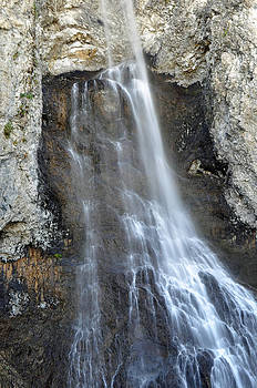 Yellowstone's Fairy Falls by Bruce Gourley