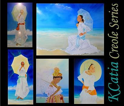 Yemaja Creole Series by Katia Creole Art