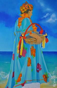 Offerings to Yemoja by Katia Creole Art