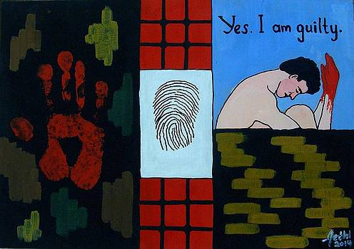 Yes I Am Guilty by Fethi Canbaz
