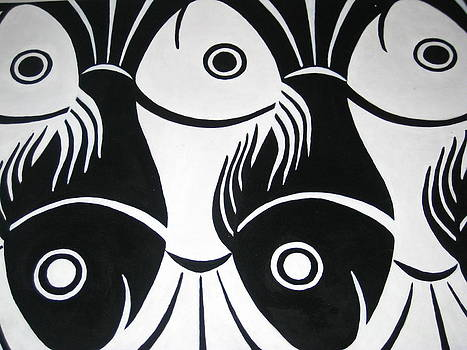 Yin and Yang Fish by Tammy Tan