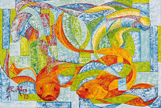 Yin and Yang of Mahi by Joseph Edward Allen