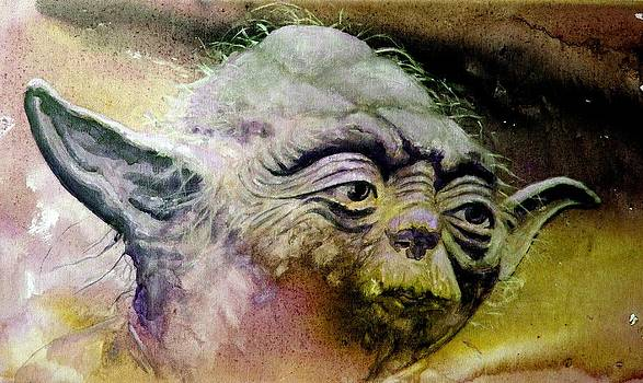 Yoda by Richard Tito