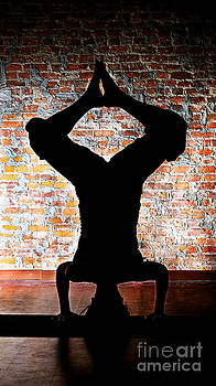 Yoga Silhouette 3 by Shannon Beck-Coatney