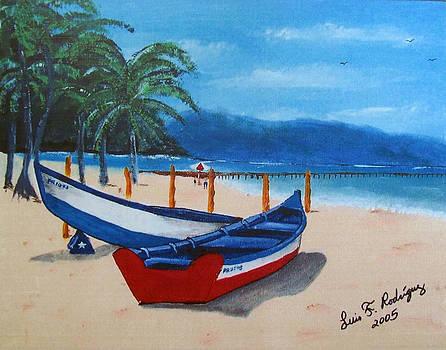 Yolas At Crashboat Beach by Luis F Rodriguez