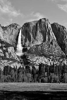 Yosemite Falls by Abbott Moses