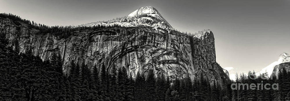 Gregory Dyer - Yosemite National Park - black and white