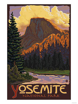 Yosemite National Park by Vintage