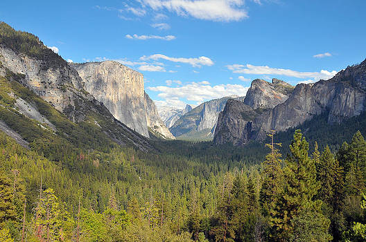 Yosemite Valley by Paul Van Baardwijk