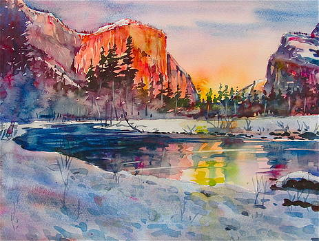 Yosemite Winter by David Lobenberg