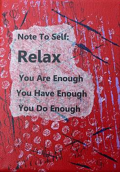 You Are Enough - 5 by Gillian Pearce