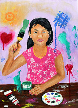 You Are the Canvas by Amy Scholten