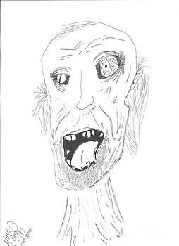 You Look Rough Mr. Zombie by Marie De Garo