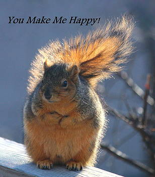 Rosanne Jordan - You Make Me Happy Squirrel