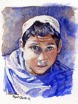 Young Boy by Sarah Kovin Snyder