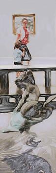 Ian  MacDonald - Young Gallery Visitor