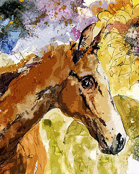Ginette Callaway - Young Life Horse Portrait