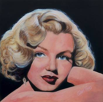 Young Marilyn by Shirl Theis