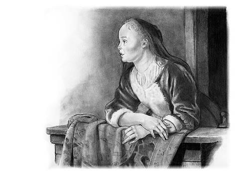 Joyce Geleynse - Young Woman On A Balcony