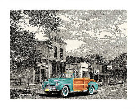 Jack Pumphrey - 1946 Ford Sports Man Convertible  in Hillsboro N M
