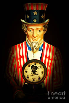 Wingsdomain Art and Photography - Your Fortune Be Told By Uncle Sam Fortune Machine 7D14405 201502