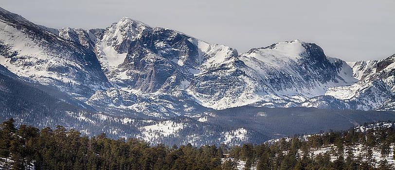 James BO  Insogna - Ypsilon Mountain and Fairchild Mountain Panorama RMNP
