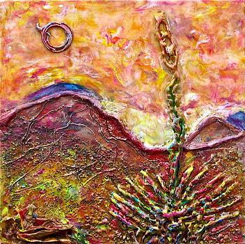 Yucca Cactus At Sunset by Joe Bourne