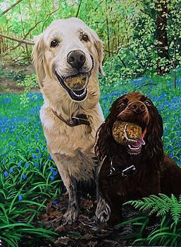 Yula and Jo by Julian Wheat
