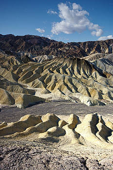 Zabriskie Point Death Valley by Frank Lee Hawkins by Eastern Sierra Gallery