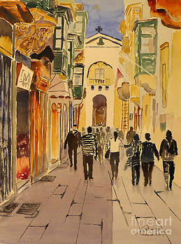 Zachary Street by Godwin Cassar