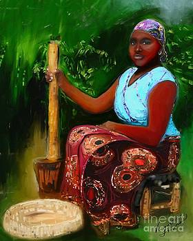 Zambia Woman by Vannetta Ferguson
