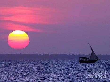 Zanzibar sunset 21 by Giorgio Darrigo