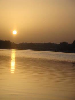 Zayande Rud River In Esfahan by Arezoo Johari