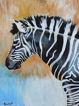 Zebra I by Veronica Silliman