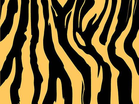 Zebra print 005 by Kenneth Feliciano