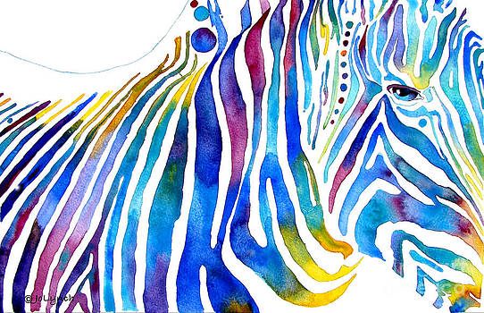Zebra Stripes by Jo Lynch