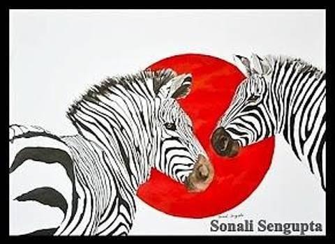 Zebra Talk by Sonali Sengupta