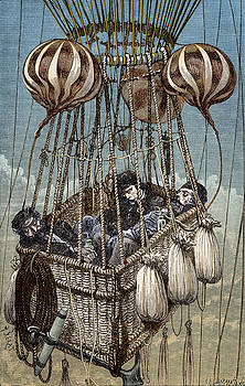 Zenith Balloon Tragedy, 1875 by Science Source