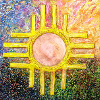 Zia Sunset / A by Joe Bourne