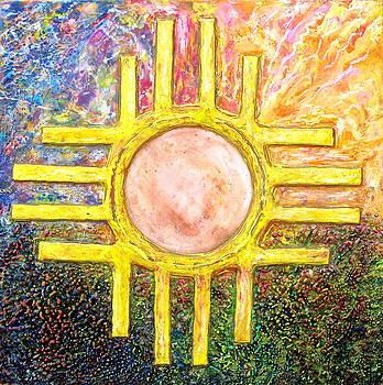 Zia Sunset / B by Joe Bourne