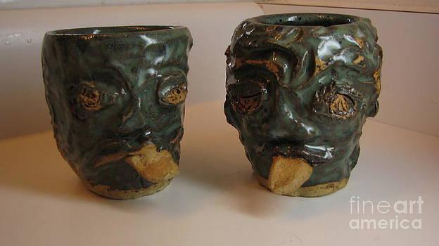 Zombie Mugs by Laura Chorba
