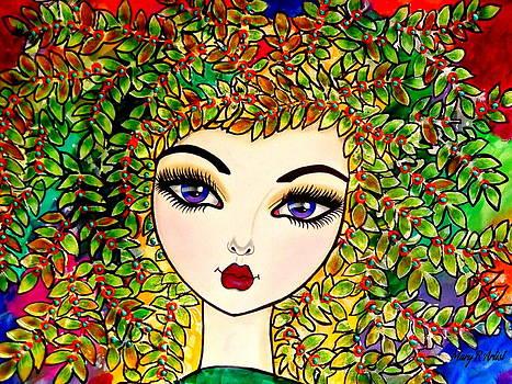 Zuleyka by Maria  RUIZ