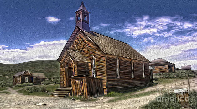 Gregory Dyer -  Bodie Ghost Town - Church 02