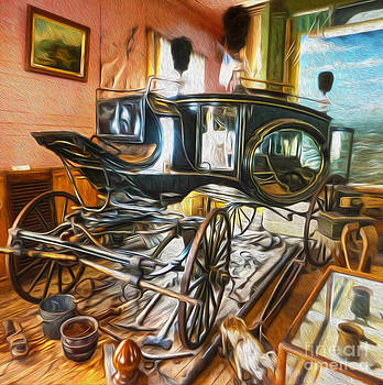 Gregory Dyer -  Bodie Ghost Town - Funeral Carriage
