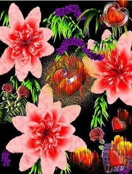 burninng Love by diane Haas