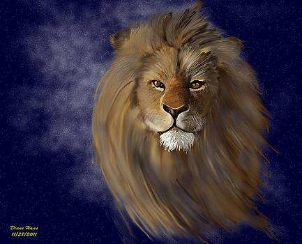 Celestial Lion by Diane Haas