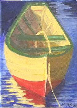 Dory Boat by Anne Marie Spears