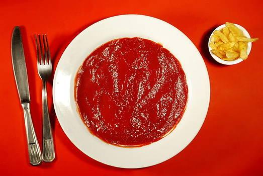 Ketchup vs fries by Alexandra-Flaminia Boc